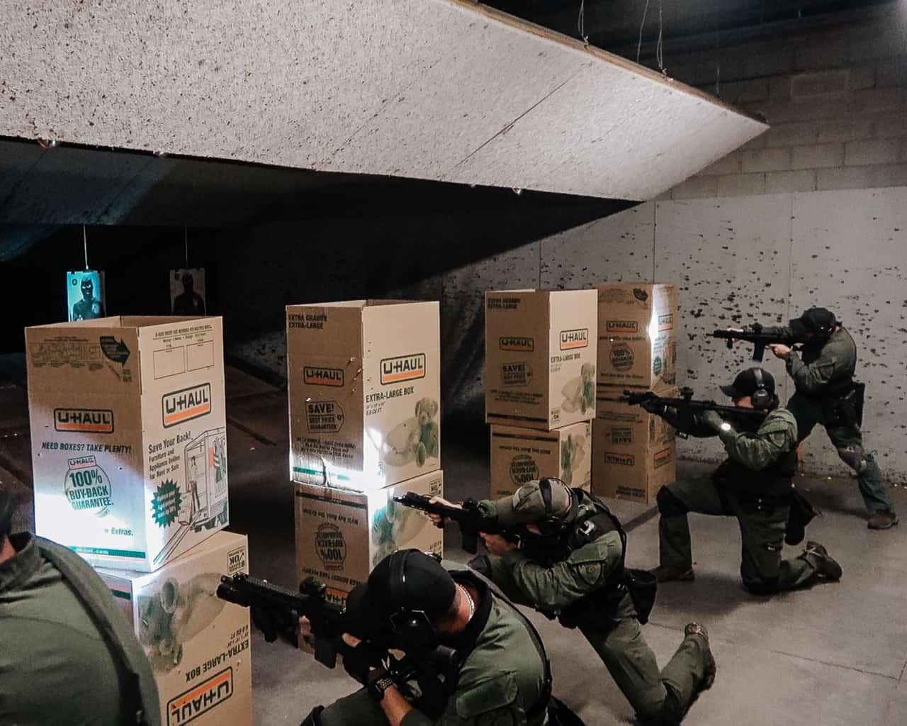 live fire rifle low light drills