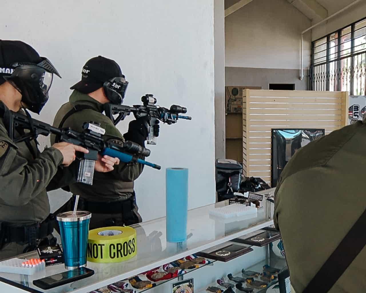 carbine sims scenario training
