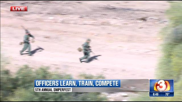 Valley law enforcement and military learn, train, compete at Sniperfest 2015