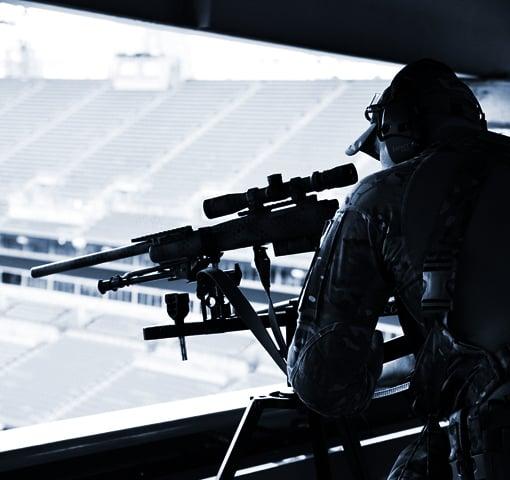 Police-Sniper-Response-to-a-Public-Venue