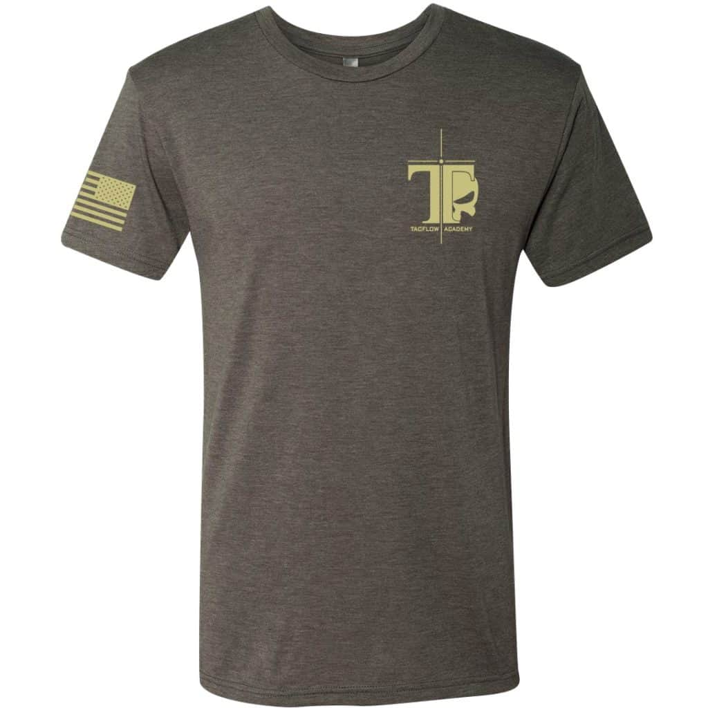 Desert Brown Tacflow Tee Front