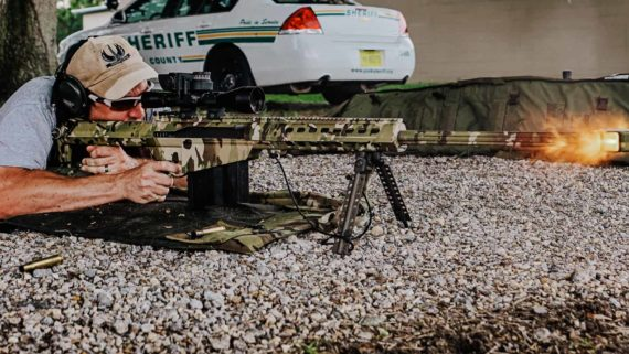 large caliber rifle instructor course for law enforcement