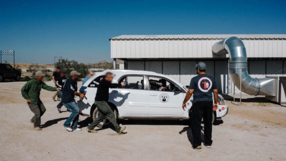 Vehicle rescues during UC Combative Transitions to Your Firearms Course