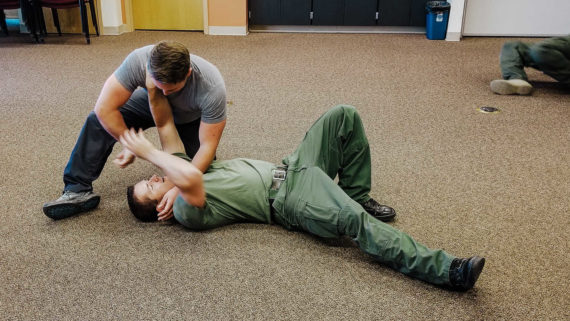 Patrol Ground Fighting Counter Grappling